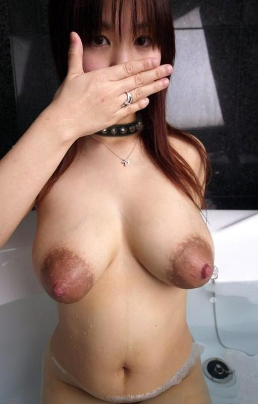 Big tits with big areolas