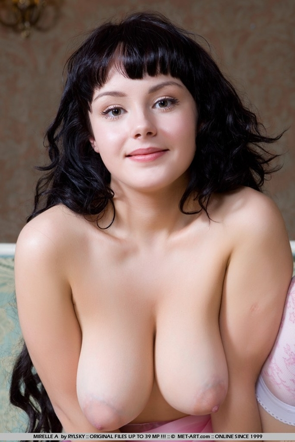 Beautiful perfect nude woman