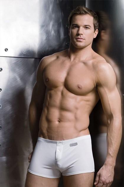 Undergear's newest model. Um hi yes please.; Men