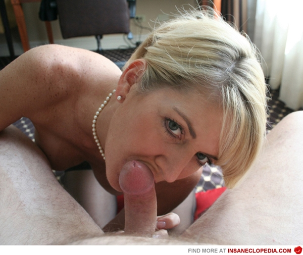 Elegant mature blowjob fascinating