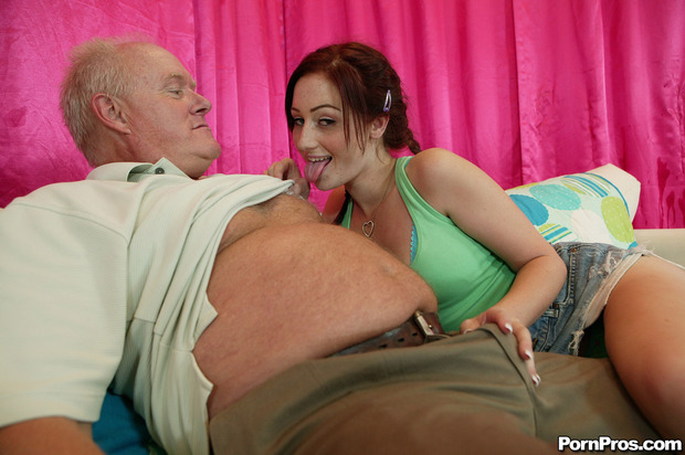 ; Blowjob Red Head Teen
