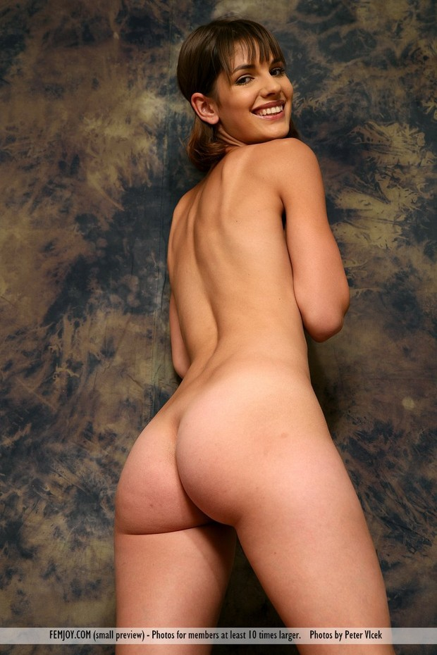 Young round brunette ass remarkable