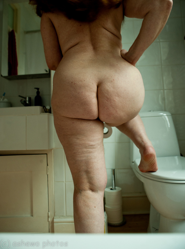 Big butt matures nude