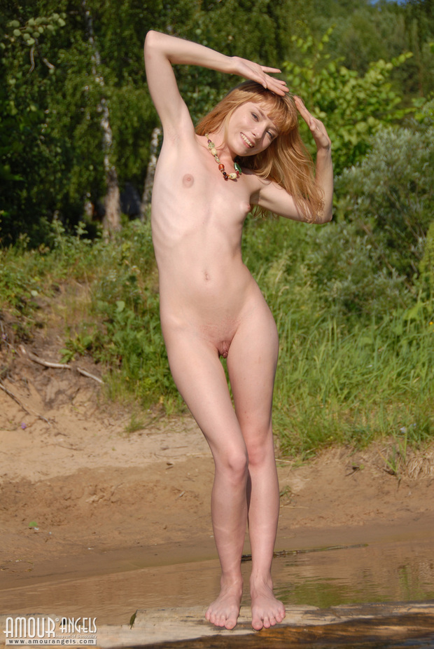 Nikki; Hot Red Head Teen
