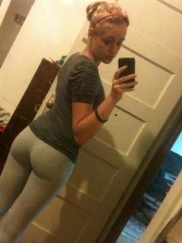 Matchless phrase, Non nude yoga pants