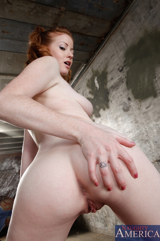 Red head ass porn