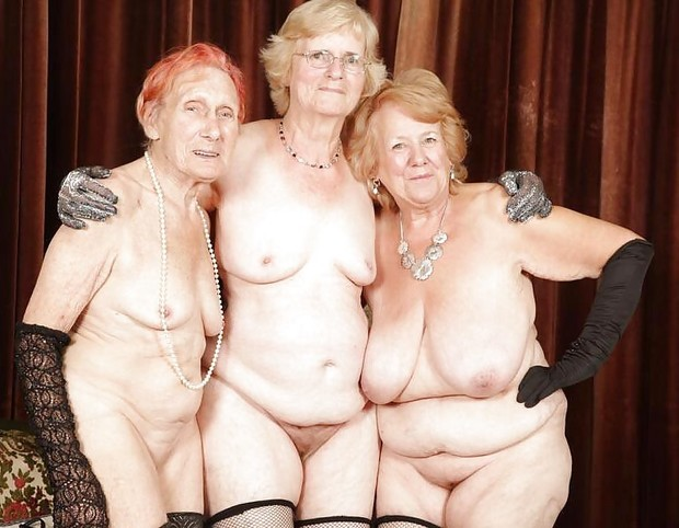 Фото голых бабушек старых