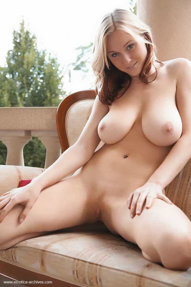 Naked very busty natural girl lovely