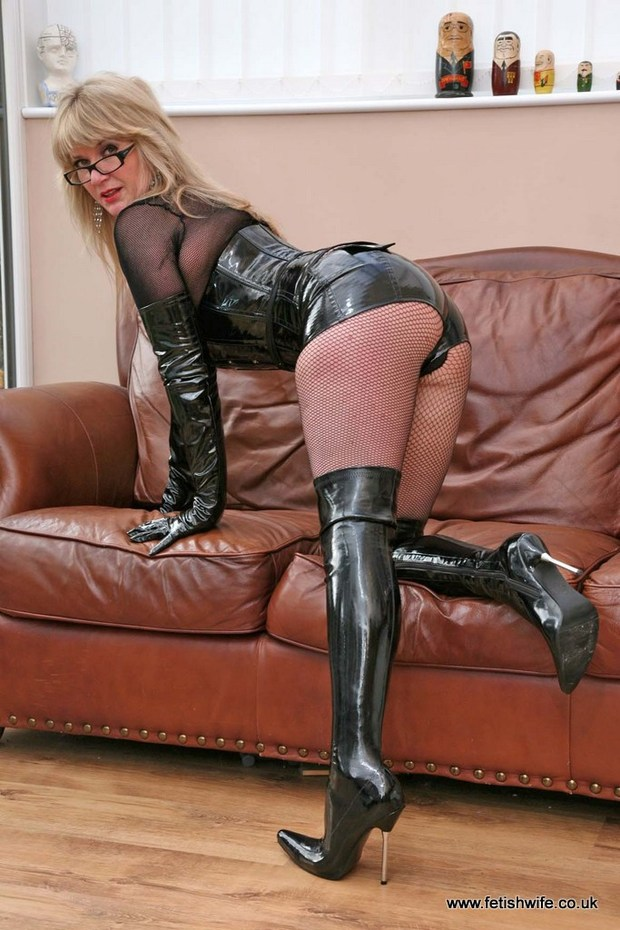 Wives Fetish Leather Boots