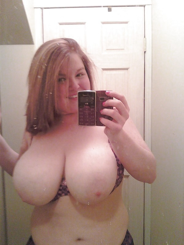 fat wife self shot nude