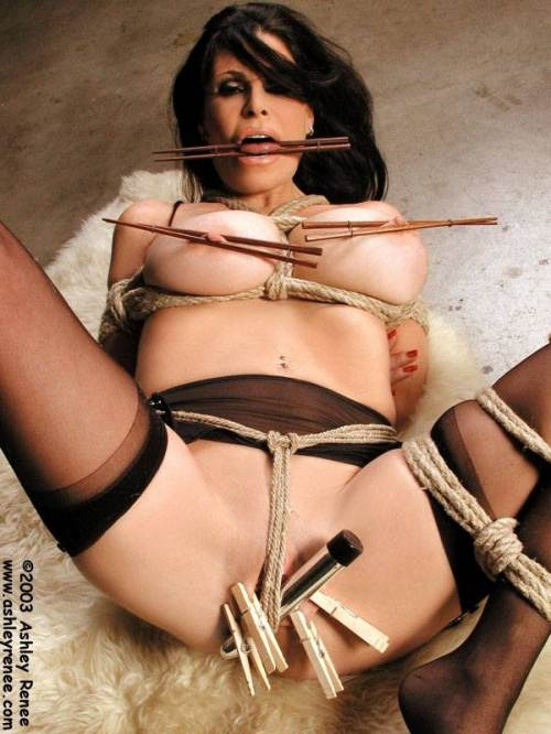 The same girls tying themselves into bondage right. good