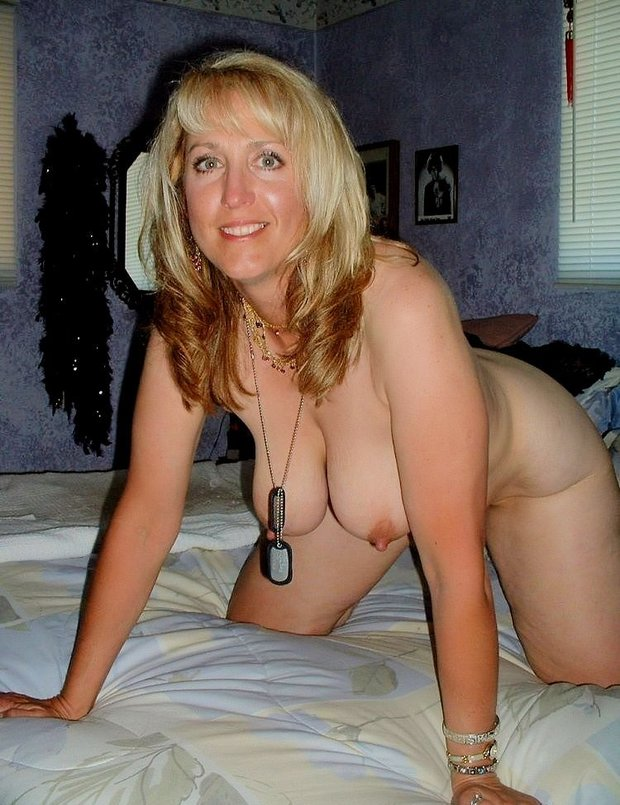 tits big Amateur blonde mature