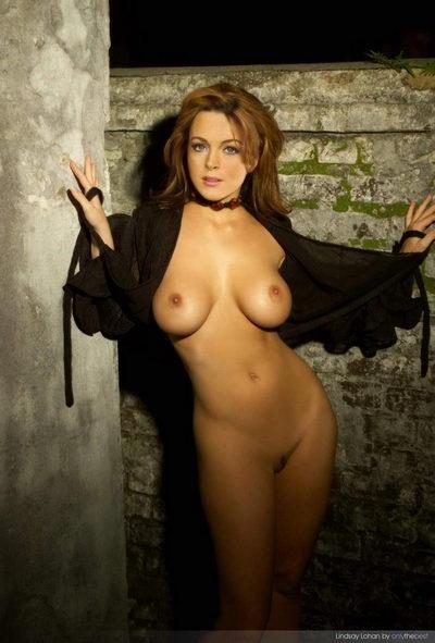 Lindsay Lohan Naked Nightwalker; Celebrity Erotic Softcore