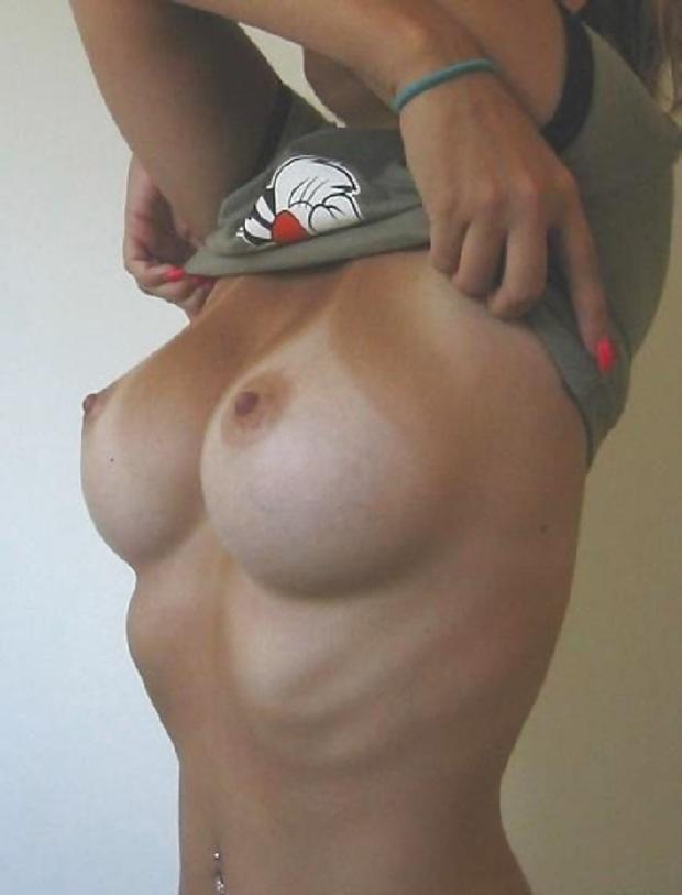 Big tits athletic