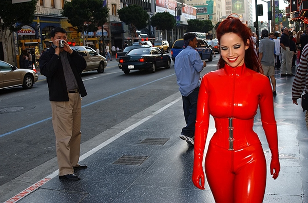 Red hot. - What it is; Babe Big Tits Latex