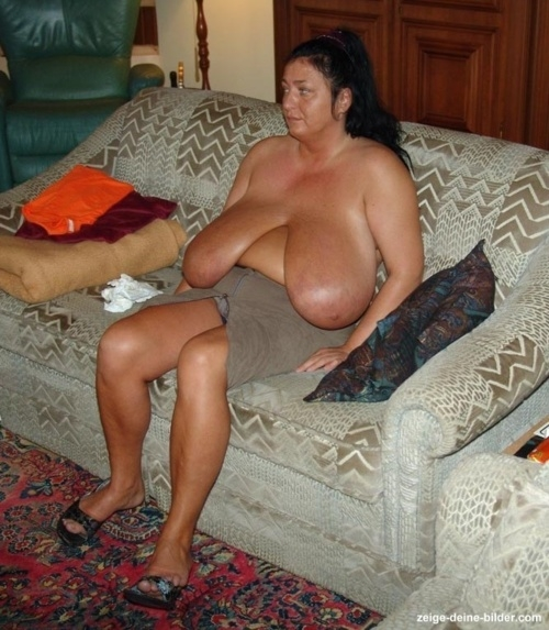 Huge Saggy Tits On Mature Women Big