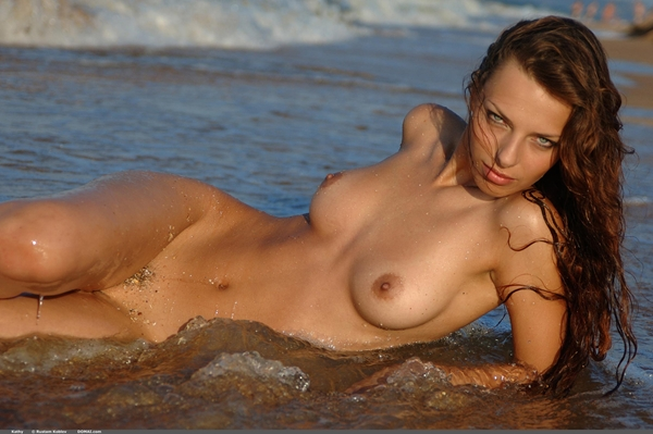 water; Babe Brunette HD Softcore