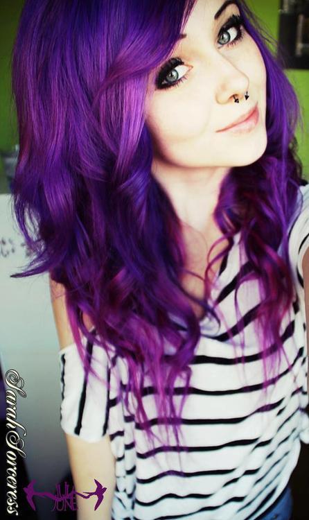 Trendy style teen fall hair