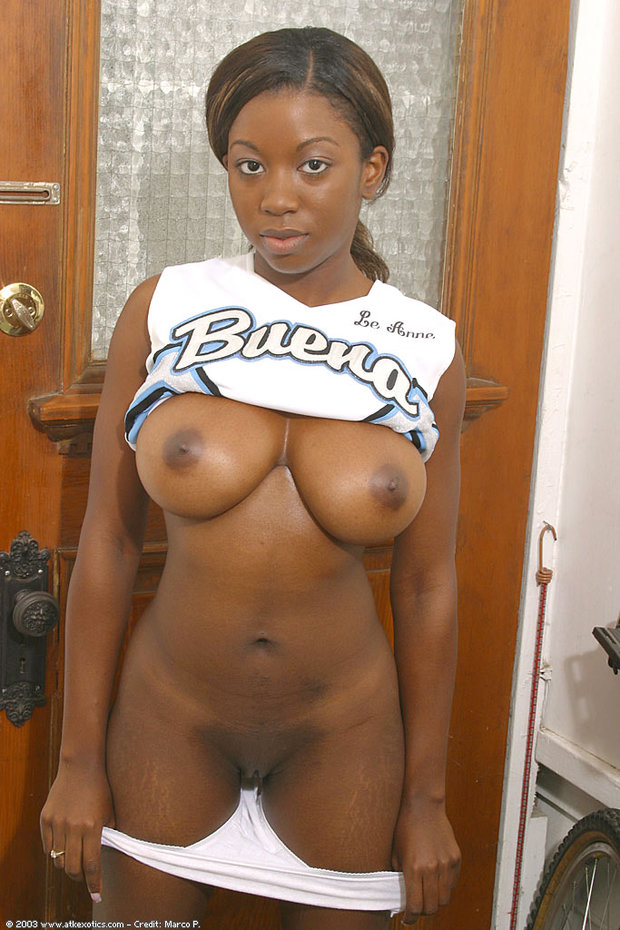 Plain black ebony big tit stuff